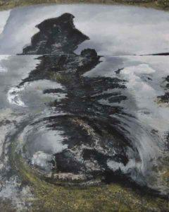 Avani Rao Gandra, size 24x32,Mixed Media on Canvas Rs 40000(27)